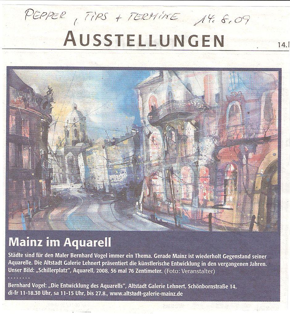 Mainz Ausstellung 2009